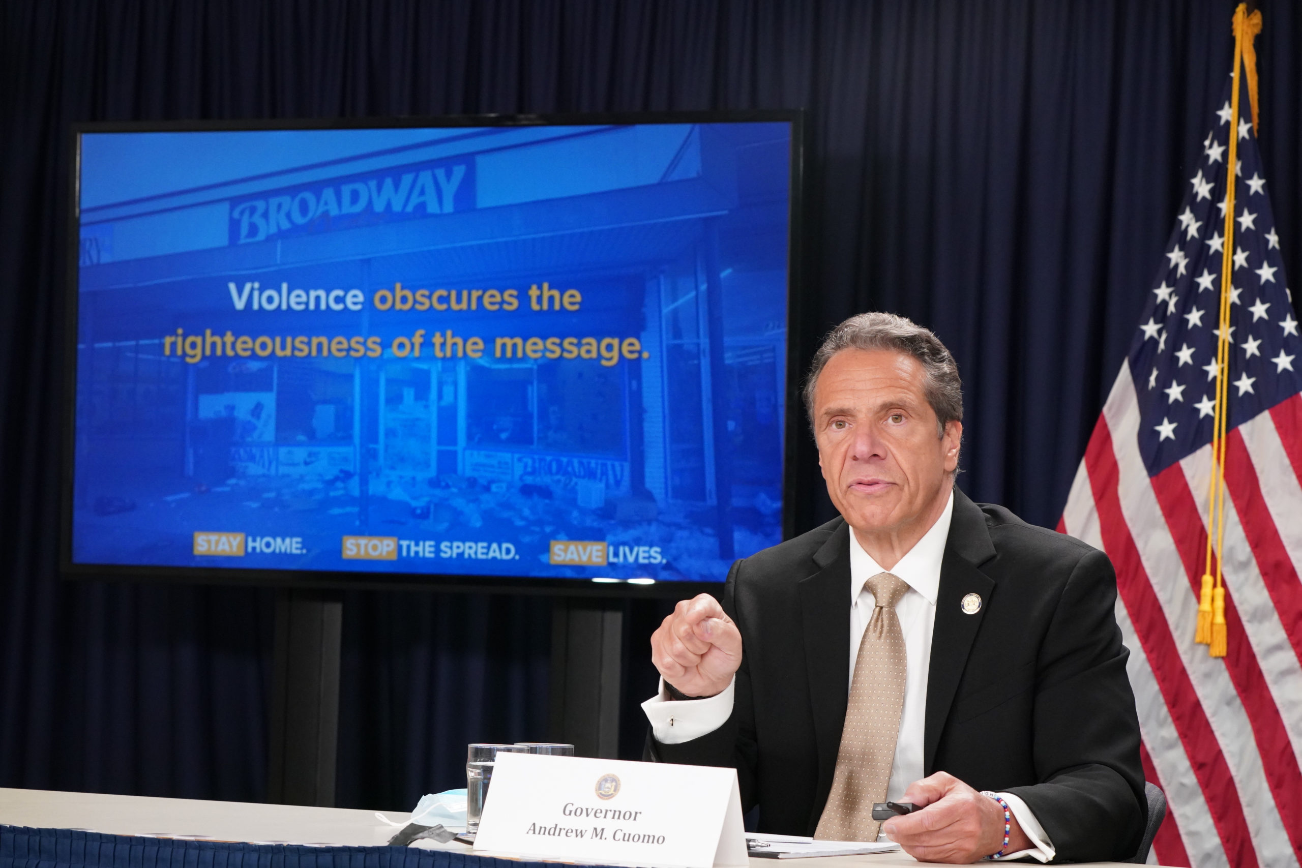 'Embarrassed' Cuomo In First Appearance Addresses Sexual Harassment Allegations But Refuses To Resign