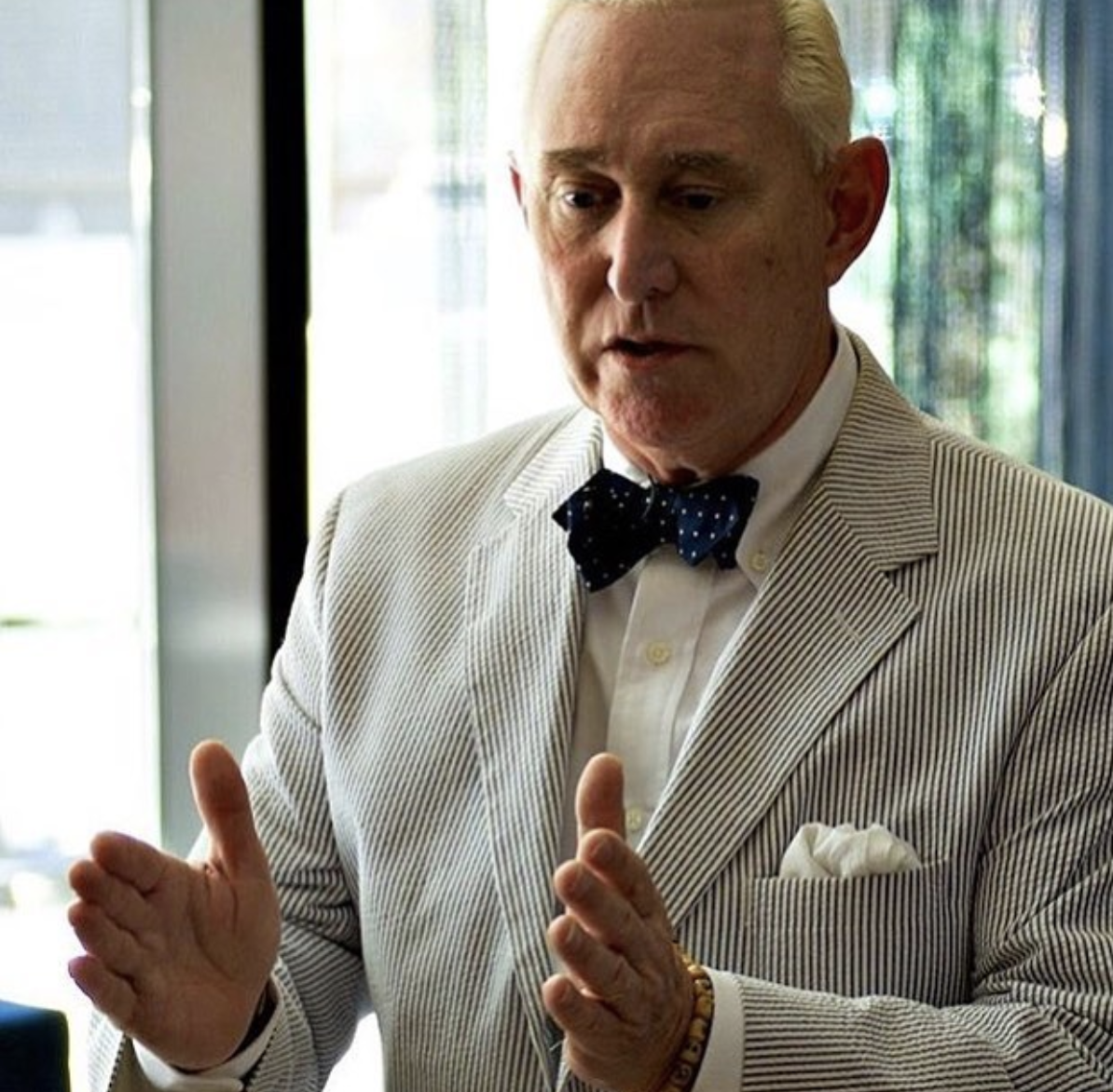 Exclusive: Roger Stone blasts Bannon after his fraud arrest