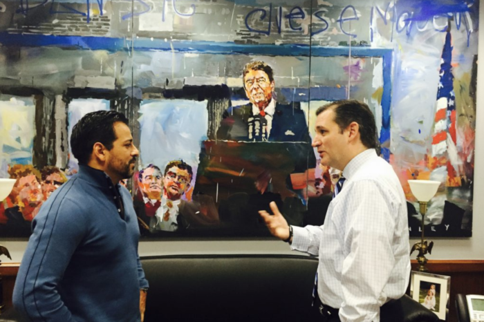 Ted Cruz requests copy of hellish painting of himself