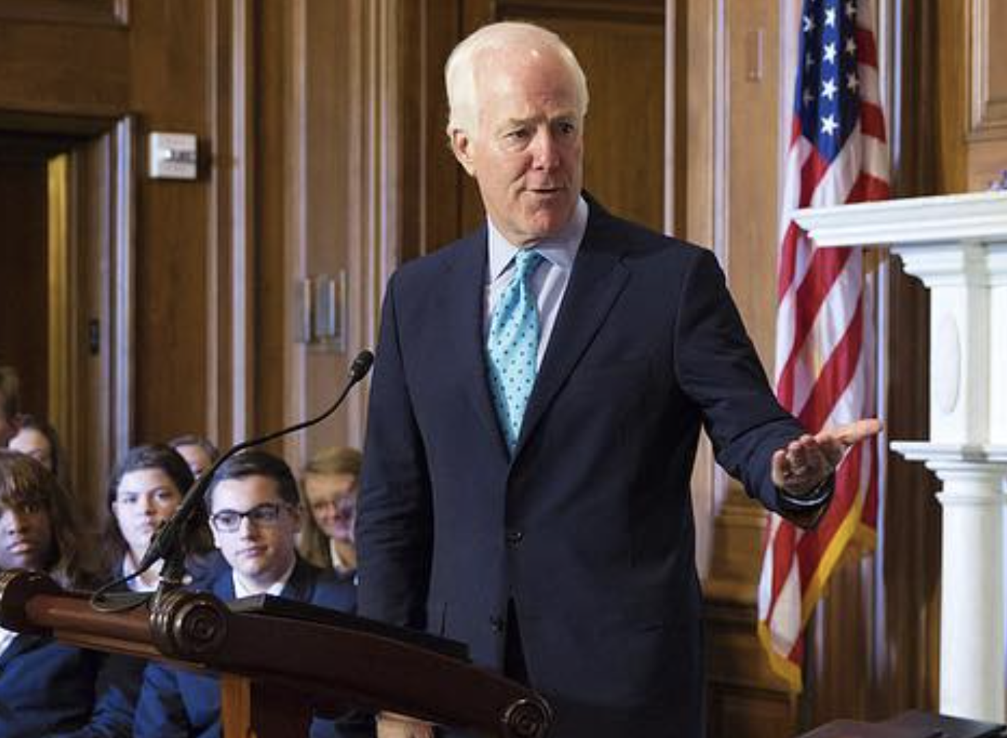 Cornyn Leads Bipartisan Effort on Gun Background Checks