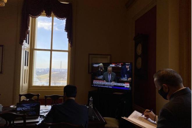 Second Day of Trump's Senate Impeachment Trial