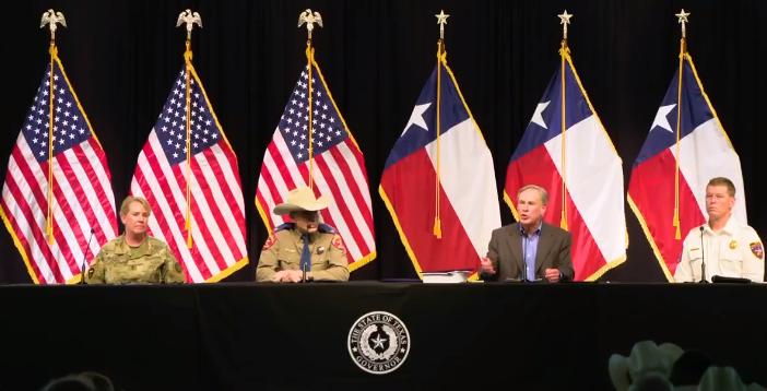 Gov. Greg Abbott Announces Border Wall Plans
