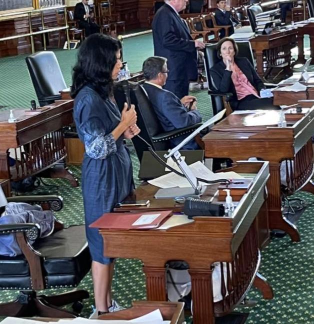 State Sen. Carol Alvarado launches filibuster